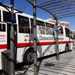 Image for the Tweet beginning: Dona Sangre. El autobus de Donación