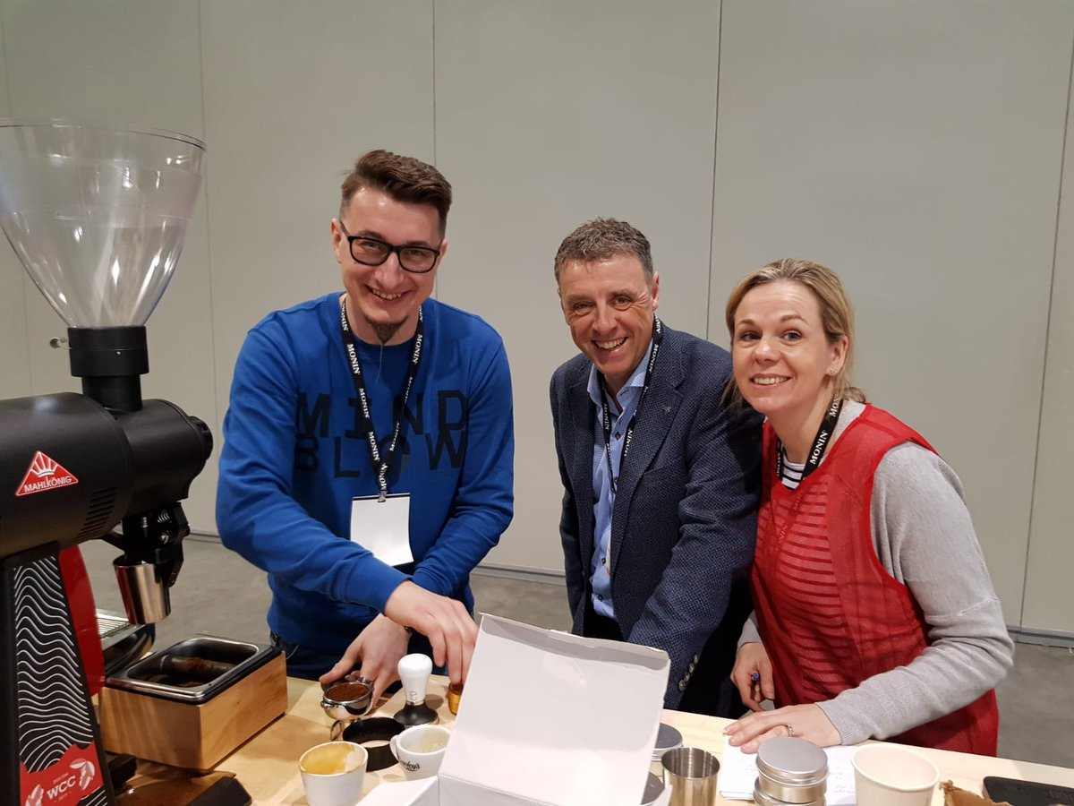 We had a great day yesterday supporting Wojciech at the preliminary qualifiers for the world barista championships in Boston! We now wait patiently for the results this evening. #worldbaristachampionship #wbcboston @scae_community @sca_ireland