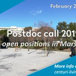 #JobOffer | 2 weeks left to apply to our interdisciplinary #Postdoc call!   We're recruiting up to 5 postdoc fellows! Check out our offers or submit you own project!  More info and to apply:   cc. @univamu @CNRS_dr12 @CentraleMars @Insermpacacorse https://t.co/xoEV59z5uY