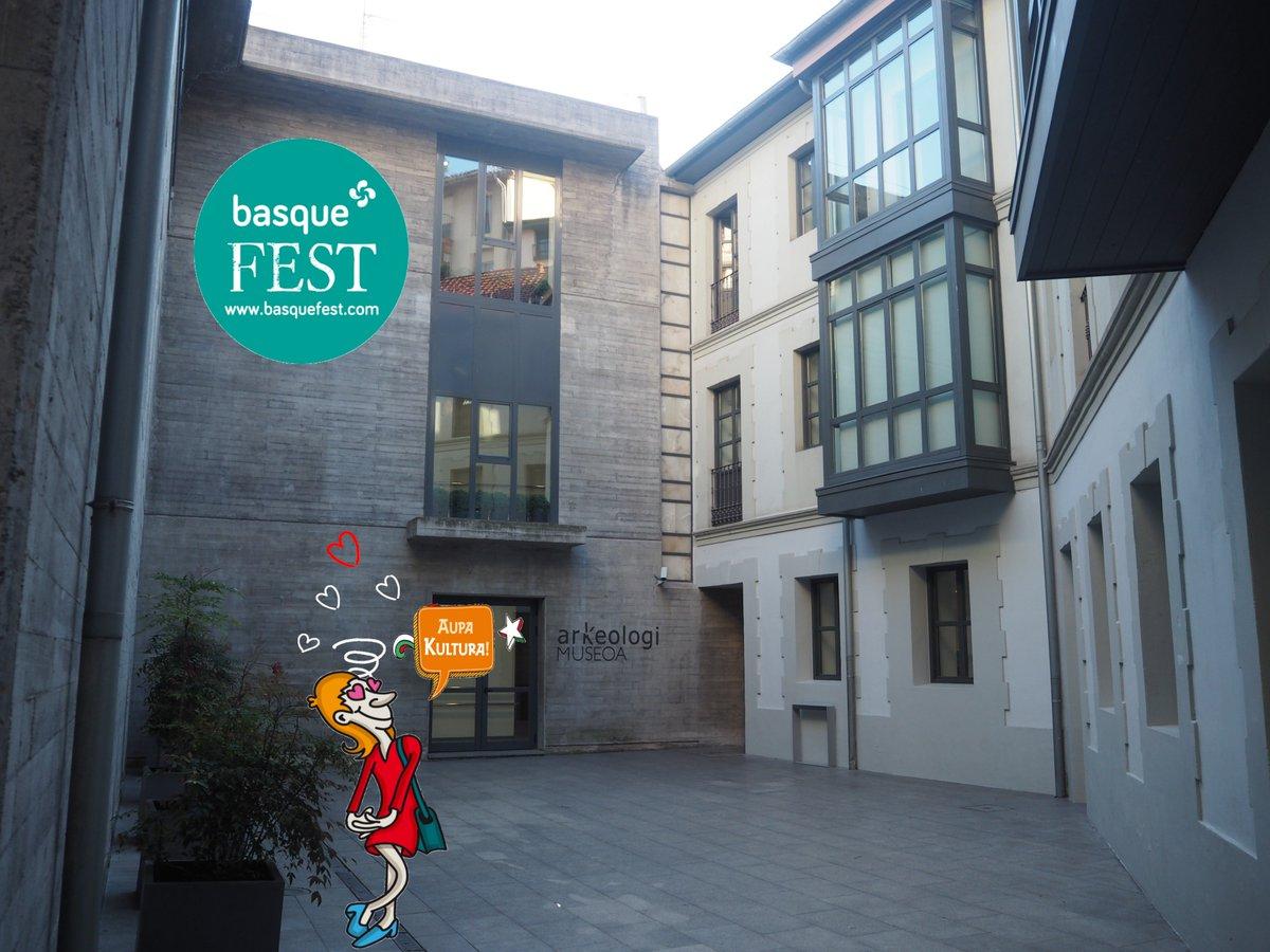 El Arkeologi Museoa se suma durante los días 17 a 21 de abril, en el apartado de museos y exhibiciones, a BASQUE FEST: la gran fiesta de la cultura vasca, que regresa a Bilbao por Semana Santa. Programa de actividades en: http://basquefest.com/programacion/ #basquefest2019 #arkeologimuseoa