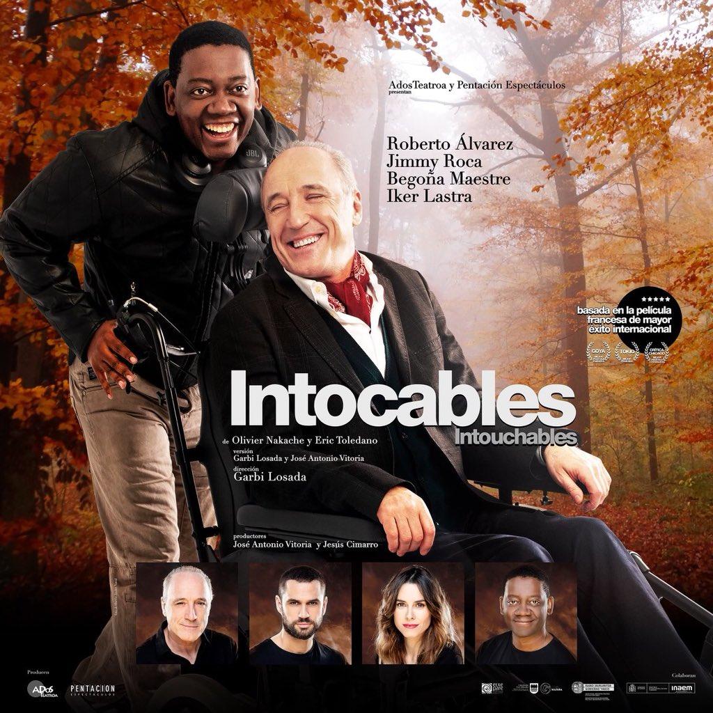 @robertoactor te deseamos lo mejor en esta nueva aventura que comienzas hoy representando la obra #Intocables esperamos verte pronto!!