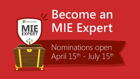 Are you an innovative educator looking to be part of an amazing global 🌎 PLC? Self-nominations to become an 2019-20 #MIEExpert launch April 15th! 🎉 #edtech #K12 #elearning #MicrosoftEdu