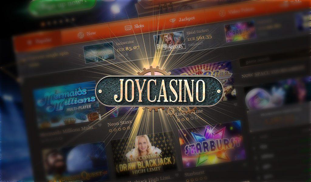 занос в казино Joycasino, россия вывод средств, казино
