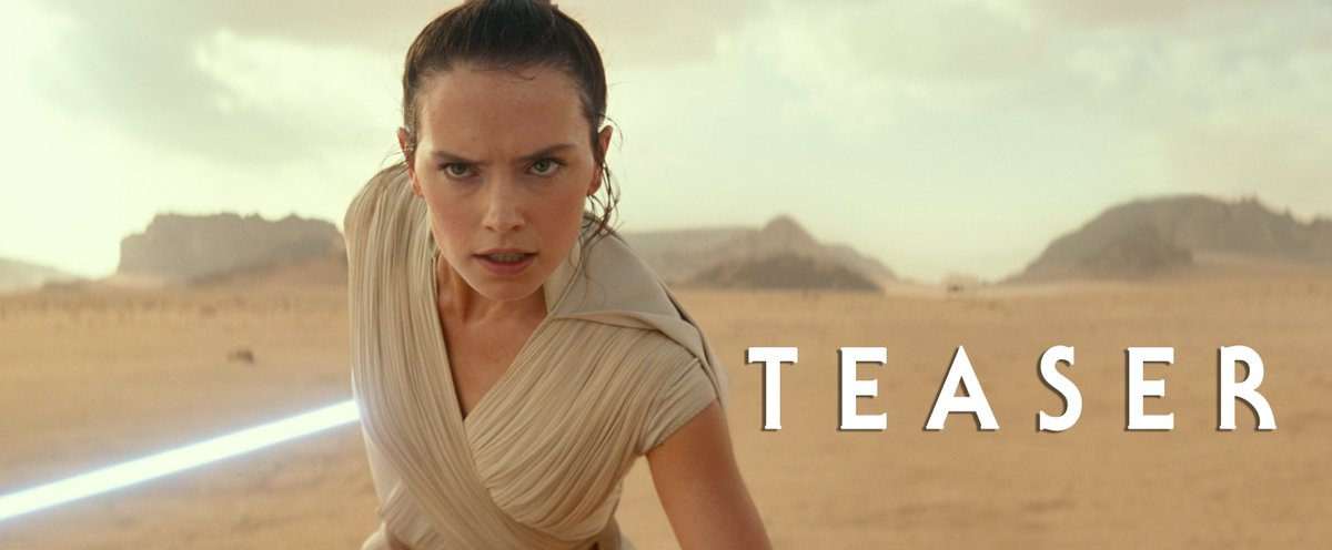 Every generation has a legend. Watch the brand-new teaser for Star Wars: #EpisodeIX.