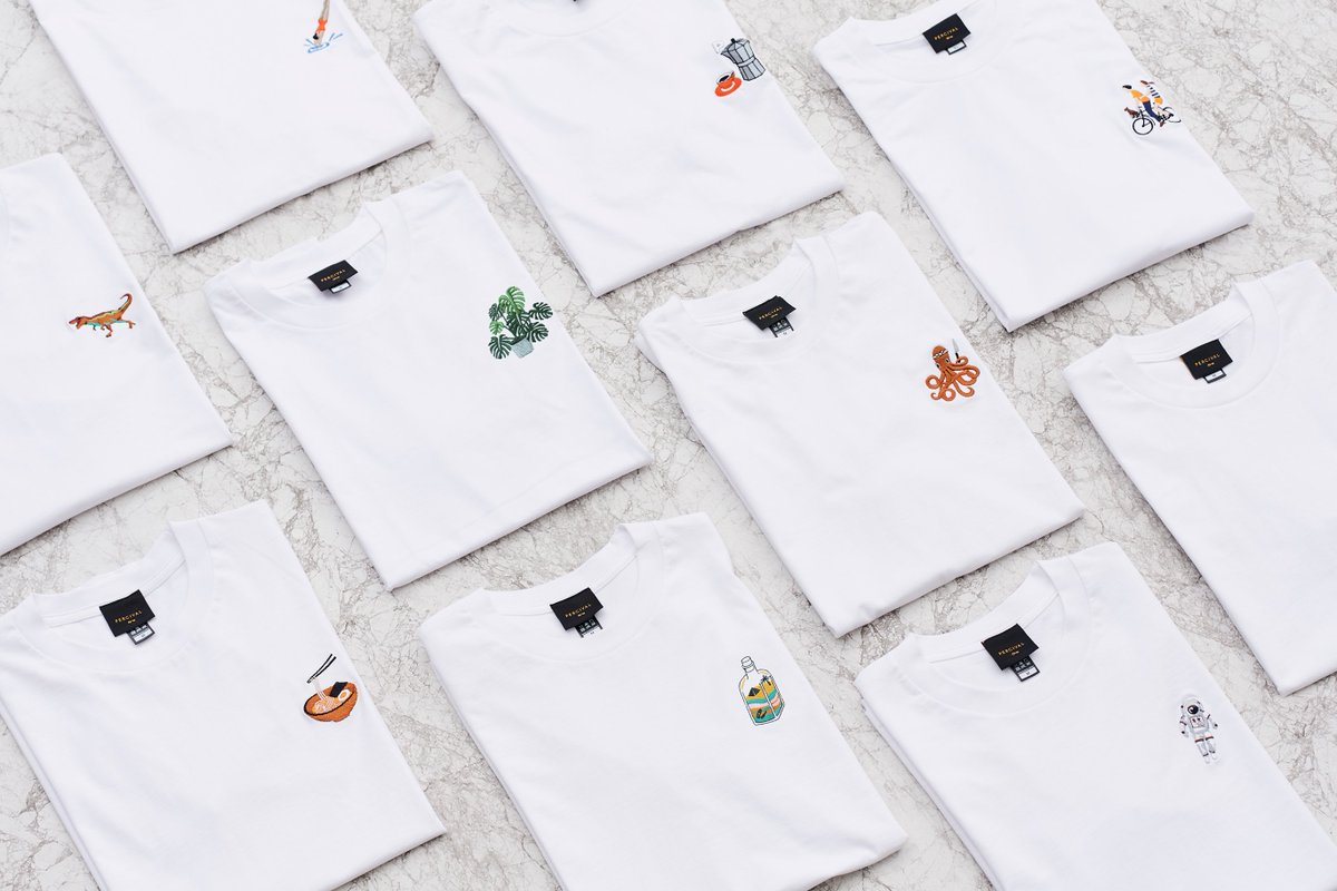 EMBROIDERIES FOR DAYS 👕👌🏻 bit.ly/PercivalTshirts