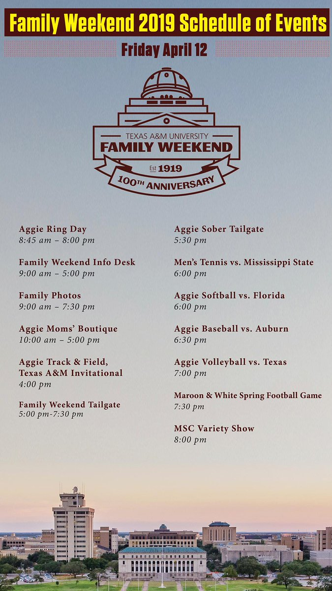 Texas A&M New Student & Family Programs on Twitter: