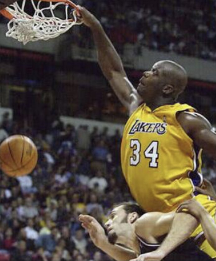 """Shaq vs the """"Sacramento Queens""""   He's now a minority owner of the Kings & GM of the their e-sports team."""