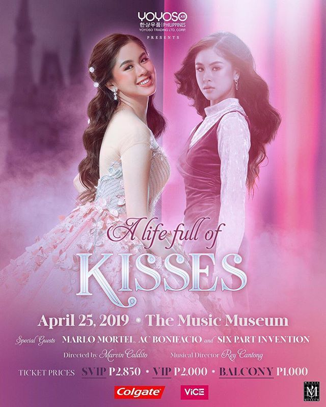 A Life Full of Kisses this April 25 at the Music Museum with special guest Marlo Mortel and Six Part Invention. http://bit.ly/2D6oD8r