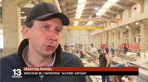 Les équipes de @France2tv étaient hier chez @Altifort -Catteau afin de suivre la campagne de recrutement originale avec @pole_emploi #industrie #recrutement…