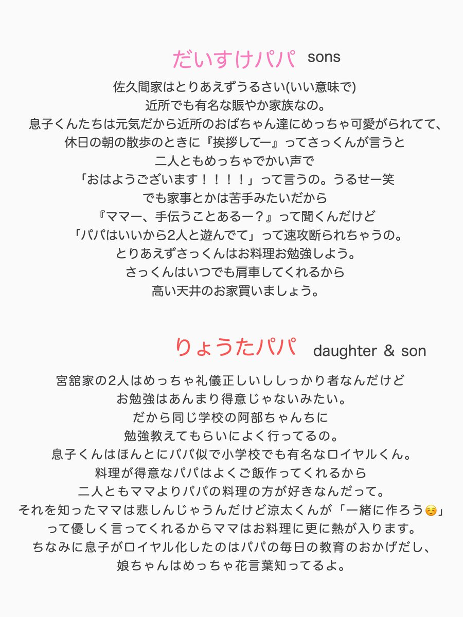 Snowman 家族 小説 Tag:SnowMan - Web小説アンテナ