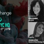 Don't miss @Captify's #BeTheChange in NYC next month! Join speakers @LydiaBreakfast of @FastCompany,  Sara Robertson of @XaxisTweets, Avery Durnan of @VaynerMedia and @Brianna_Kipnis of @Captify for what's set to be a great evening. Register here: https://t.co/PsBuQGaoEn
