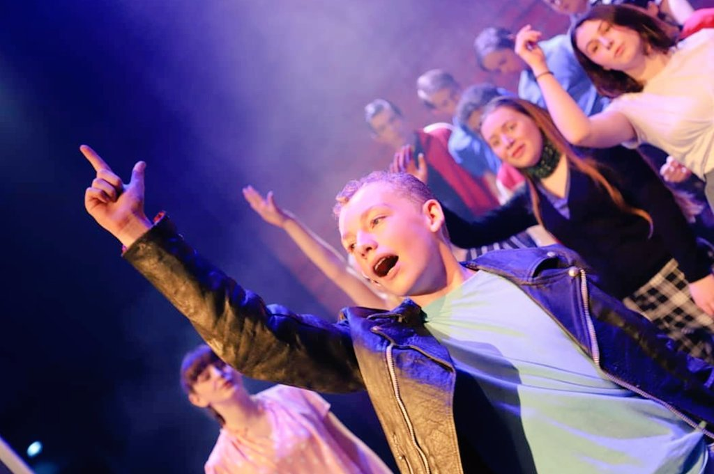 Last chance to see Beechen Cliff/@BathTheatreSch spectacular production of Grease tonight at Kingswood Theatre 7pm. Only 8 tickets left - first come....