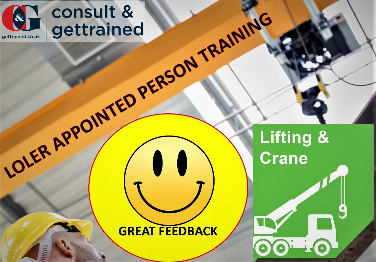 "test Twitter Media - More good feedback from Michael @Airbus on our 'Appointed Person - Lifting Operations' course who said ""Brilliant instructor very knowledgeable, excellent""#Training #Feedback #Lifting https://t.co/eywcJg6U6Z"