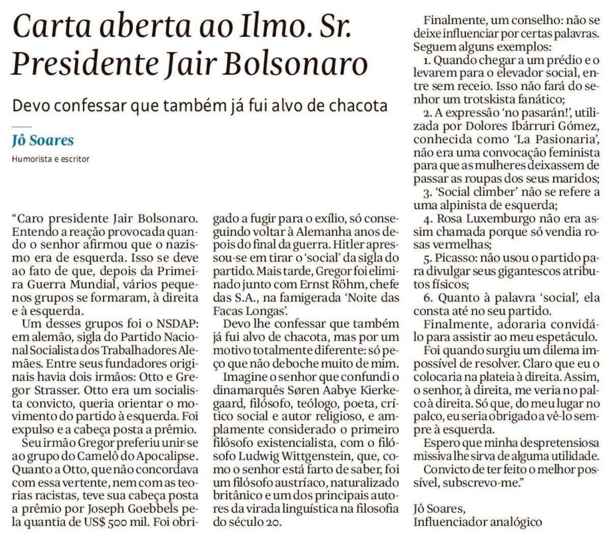 Renato Bacon 🌀's photo on Jô Soares