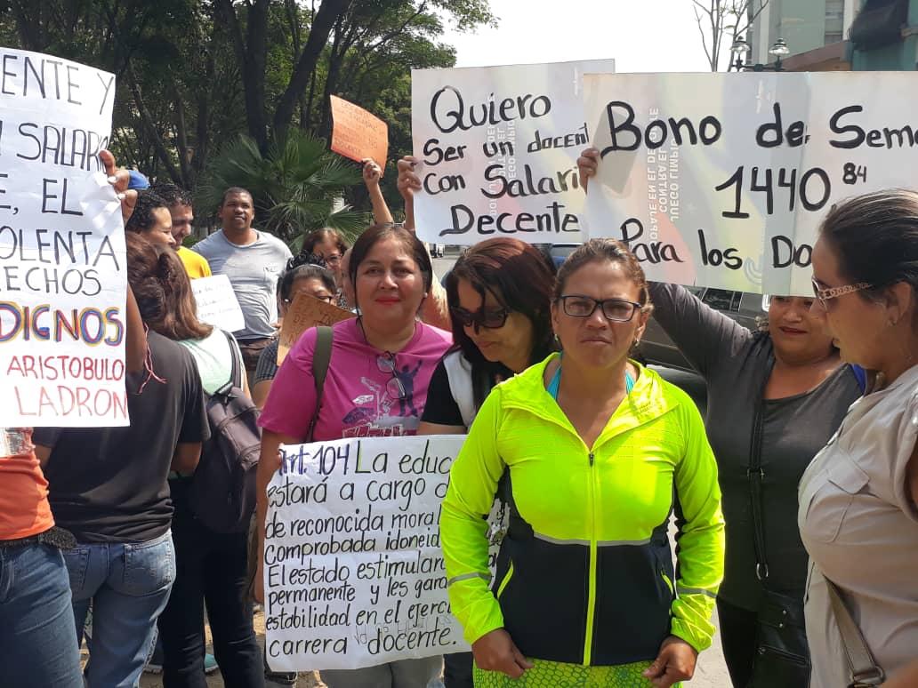 Resultado de imagen para Sindicato de Maestros de Caracas