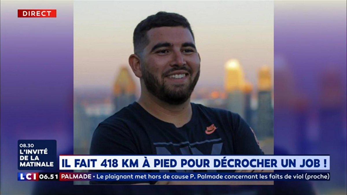 Assaad El Mellouki parcourt 418 km à pied pour décrocher un job ! https://www.lci.fr/insolite/assaad-el-mellouki-parcourt-418-km-a-pied-pour-decrocher-un-job-2118173.html?utm_medium=Social&utm_source=Twitter#Echobox=1555049884…
