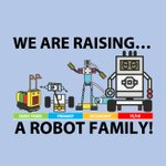 Image for the Tweet beginning: We 💕 raising @legoeducation robots!