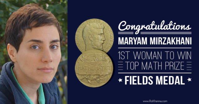 Minbiziak eraman zuen Maryam Mirzakhani, berrogei urteko matematikaria, Fields domina irabazi duen emakume bakarra http://ow.ly/orPy30opdwD #EmakumeakZientzian