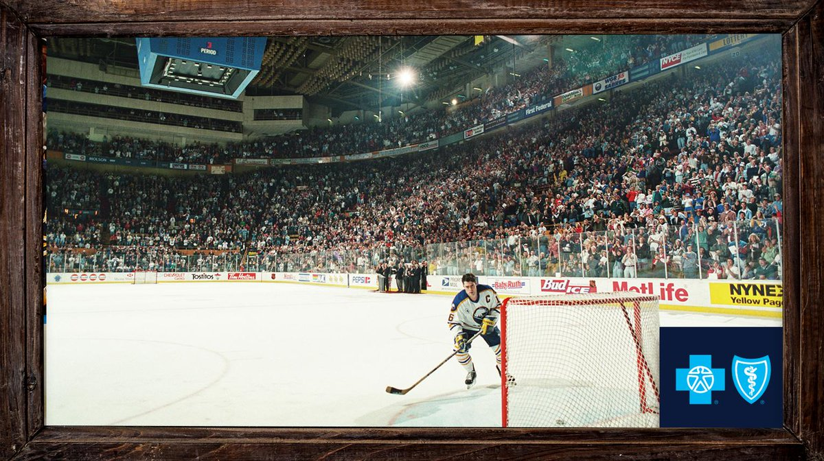 On this day in 1996, we played our final game at the Memorial Auditorium.  Michael Peca scored the last goal. @BCBSWNY