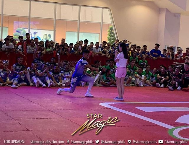 Kisses Delavin for the Robinsons Supermarkets's Summer Dancethology Cheer Dance Level Up Edition Grand Finals at Robinsons Novaliches http://bit.ly/2KxgK2g