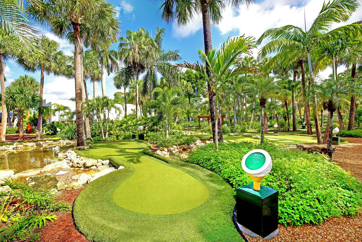Palm Beach County Sports Commission On Twitter Facility Friday Ranked One Of The Top 13 Best Mini Golf Courses In The Nation By Travel Channel Is The Sfsciencecenter An 18 Hole Miniature