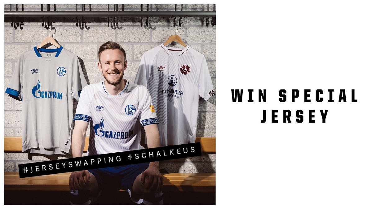 🚨🚨 RAFFLE TIME  🚨🚨  RT and like this post for a chance to win our limited edition jersey 👕   You have until half time to enter 🗳️ Good luck!  #s04 #SchalkeUS🇺🇸 #FCNS04