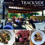 "This #FoodieFriday, we want to share love for a neighborhood favorite in Kennesaw. Trackside Grill offers creative southern comfort food in a unique railroad-themed atmosphere. Try the ""track-stack"" burger or pimento cheese crusted filet mignon. YUM! #atlantassweetspot"