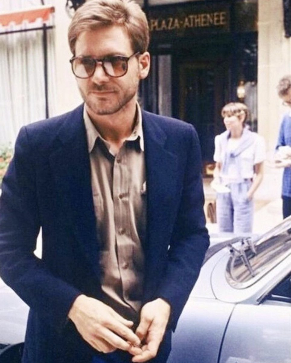 Perspective On Twitter Young Harrison Ford