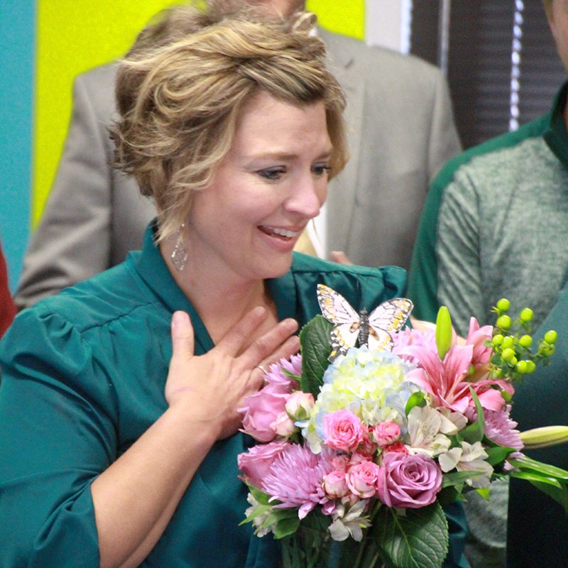 🎉 Crestwood Elementary School English language learners teacher Beth Bridwell is our 2019 Teacher of the Year! 🎉