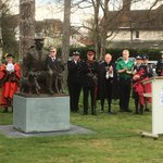 Image for the Tweet beginning: And here's the @K9memorialUk itself,