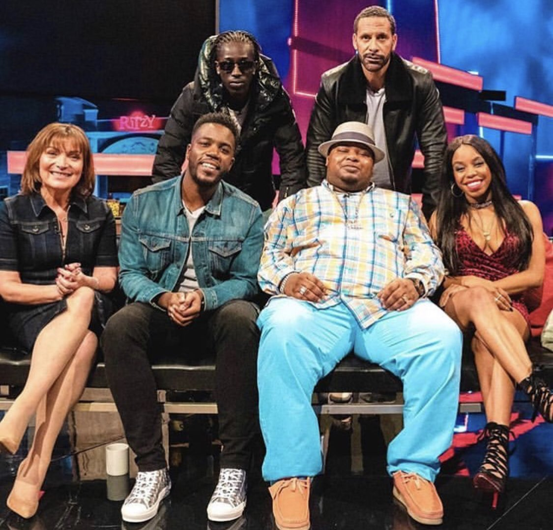 It's the final episode of #TheBigNarstieShow tune in at 11:05pm guests include @rioferdy5 @lorraine @TheLondonHughes & @unknwnt9 only on @Channel4