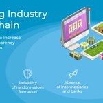 Image for the Tweet beginning: How #blockchain technology is changing