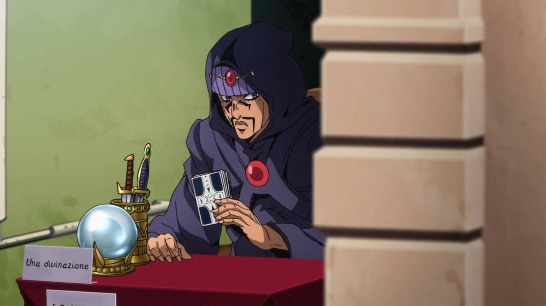 怪しすぎる占い師 #jojo_anime https://t.co/nYxZ3d2g6X
