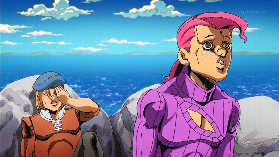 とうおるるるるるるるるるるる!! #jojo_anime #tokyomx https://t.co/fpFUiS7zDn