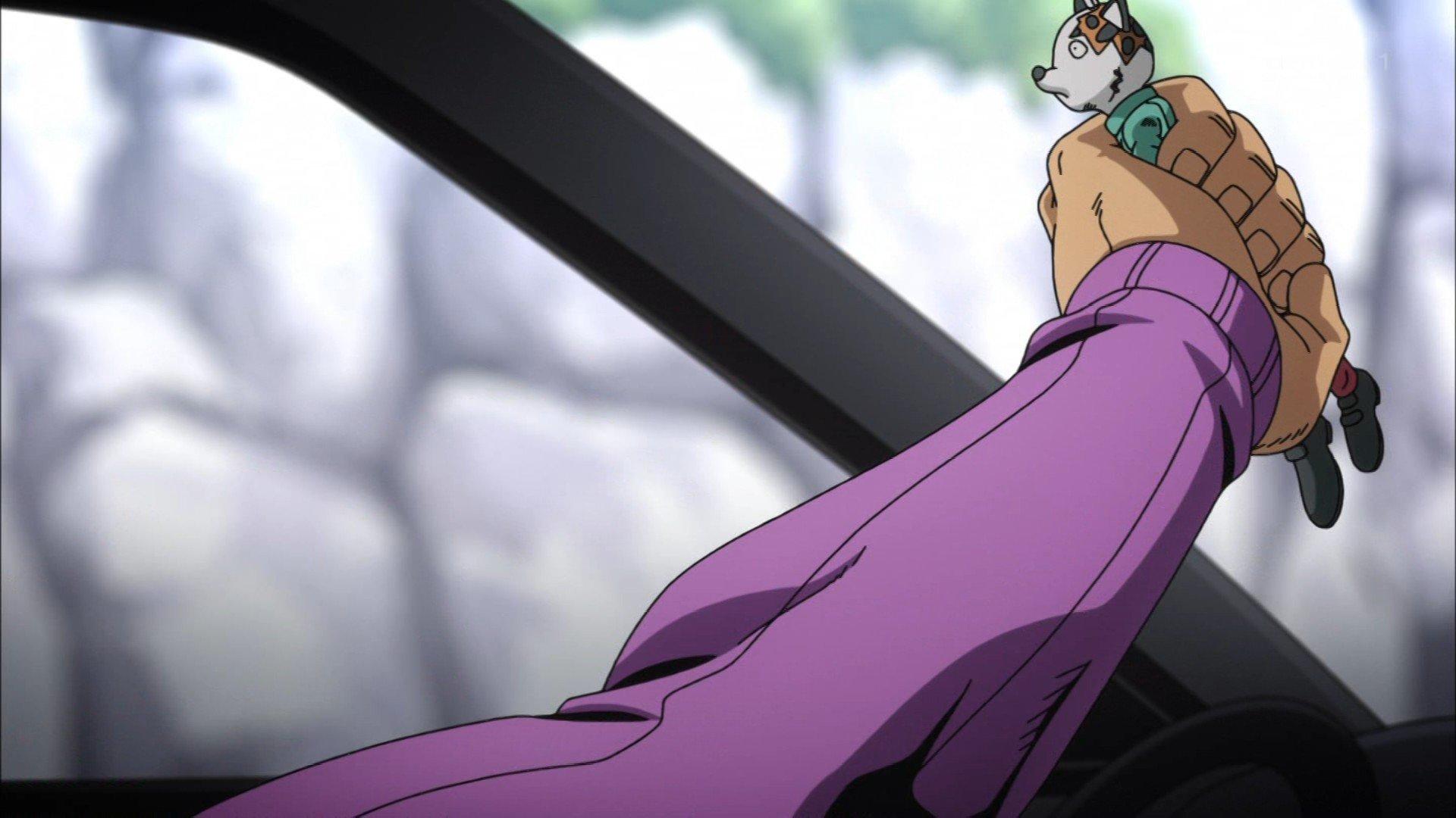 もしもし、はい、ドッピオです #jojo_anime https://t.co/oWOHjx1Tpp