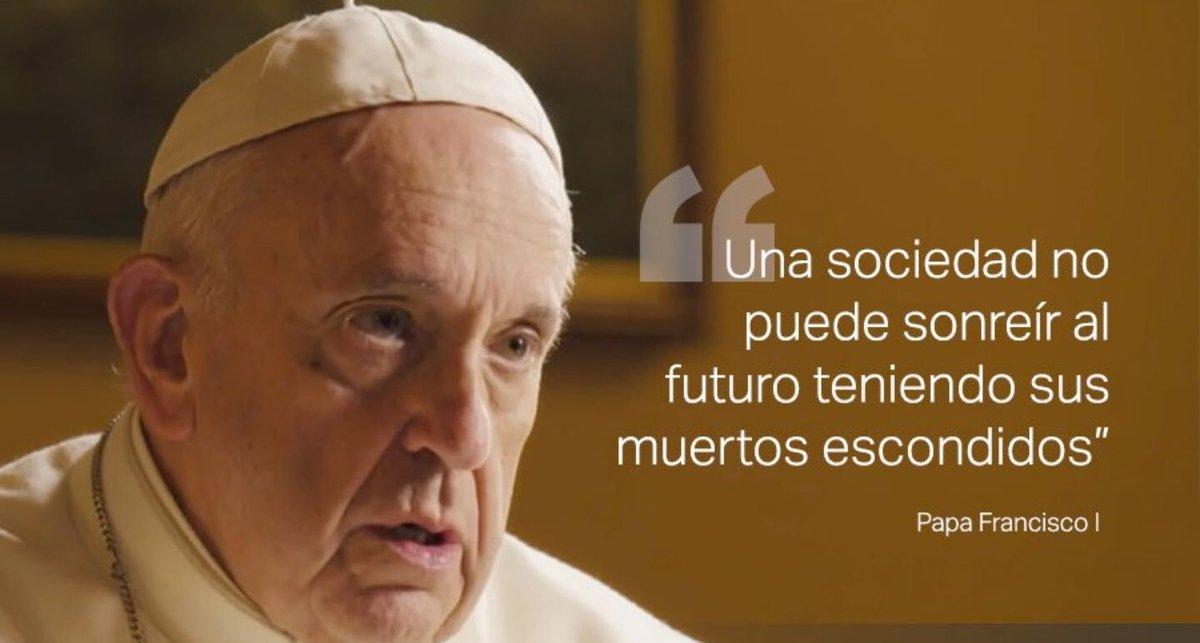 Suscribo las palabras del Papa Francisco #SalvadosPapa poco hay que añadir