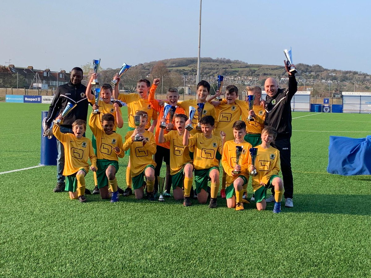 What a day.... after the U13s winning the double the U12s followed suit! Congratulations guys!!! #oneclub @HorshamFC #horshamfc