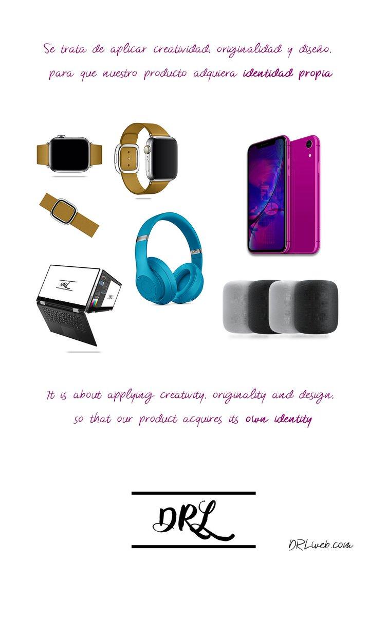 Se trata de aplicar creatividad, originalidad y diseño, para que nuestro producto adquiera identidad propia. - It is about applying creativity, originality and design, so that our product acquires its own identity. http://DRLweb.com  #creatividad #originalidad #diseño