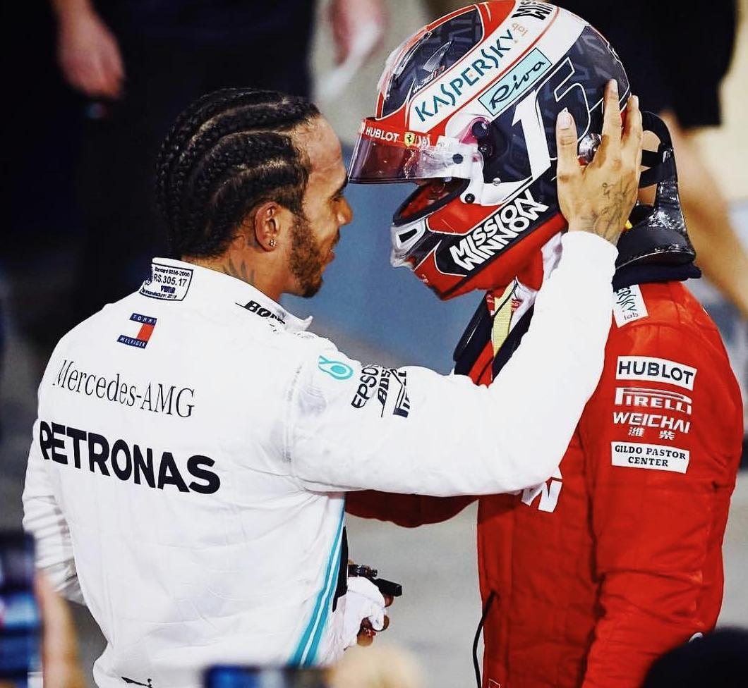 What a dramatic day. It was so tough out there and I gave it absolutely everything I had. Charles, it wasn't your day but your future is very bright. You drove great. To my team, you were incredible as always, we'll take this 1-2 and move forwards to China 💪🏾 @MercedesAMGF1