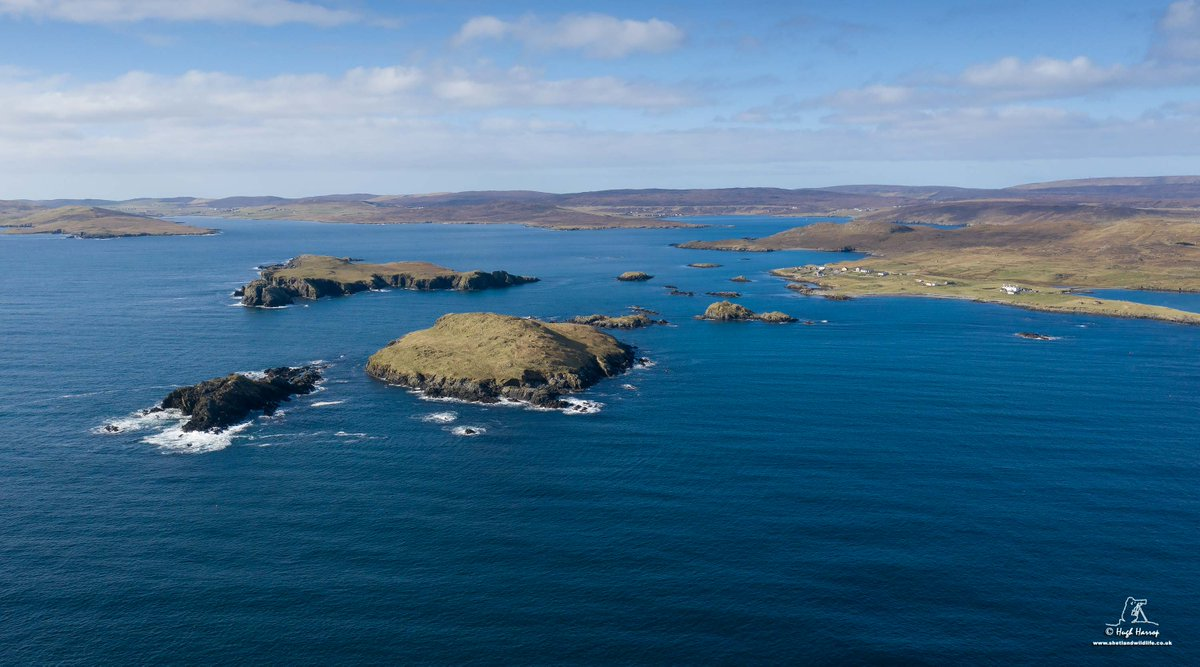 Gletness, #Shetland - it has been a beautiful day here in the far north to welcome the start of #BritishSummerTime