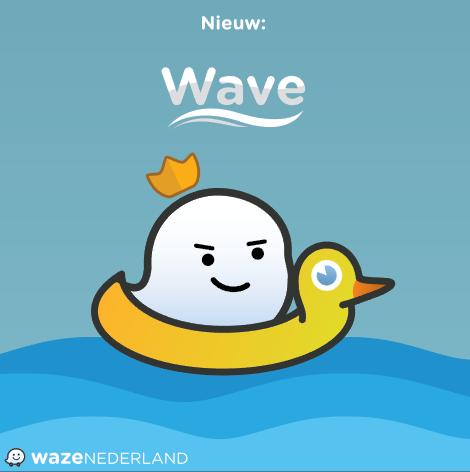 Nieuw: Wave, de extra service van Waze