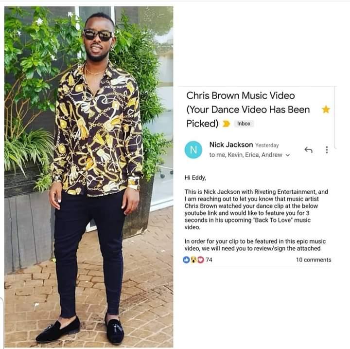 Ugandan Artist Eddy Kenzo to feature in Chris Brown's music video