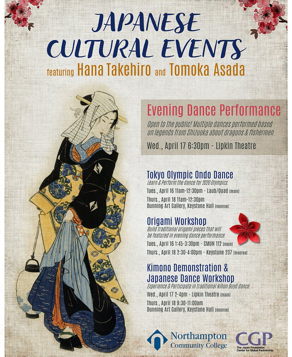 Events In North Hampton In April 2020.Ncc On Twitter Check Out These Upcoming Japanese Cultural
