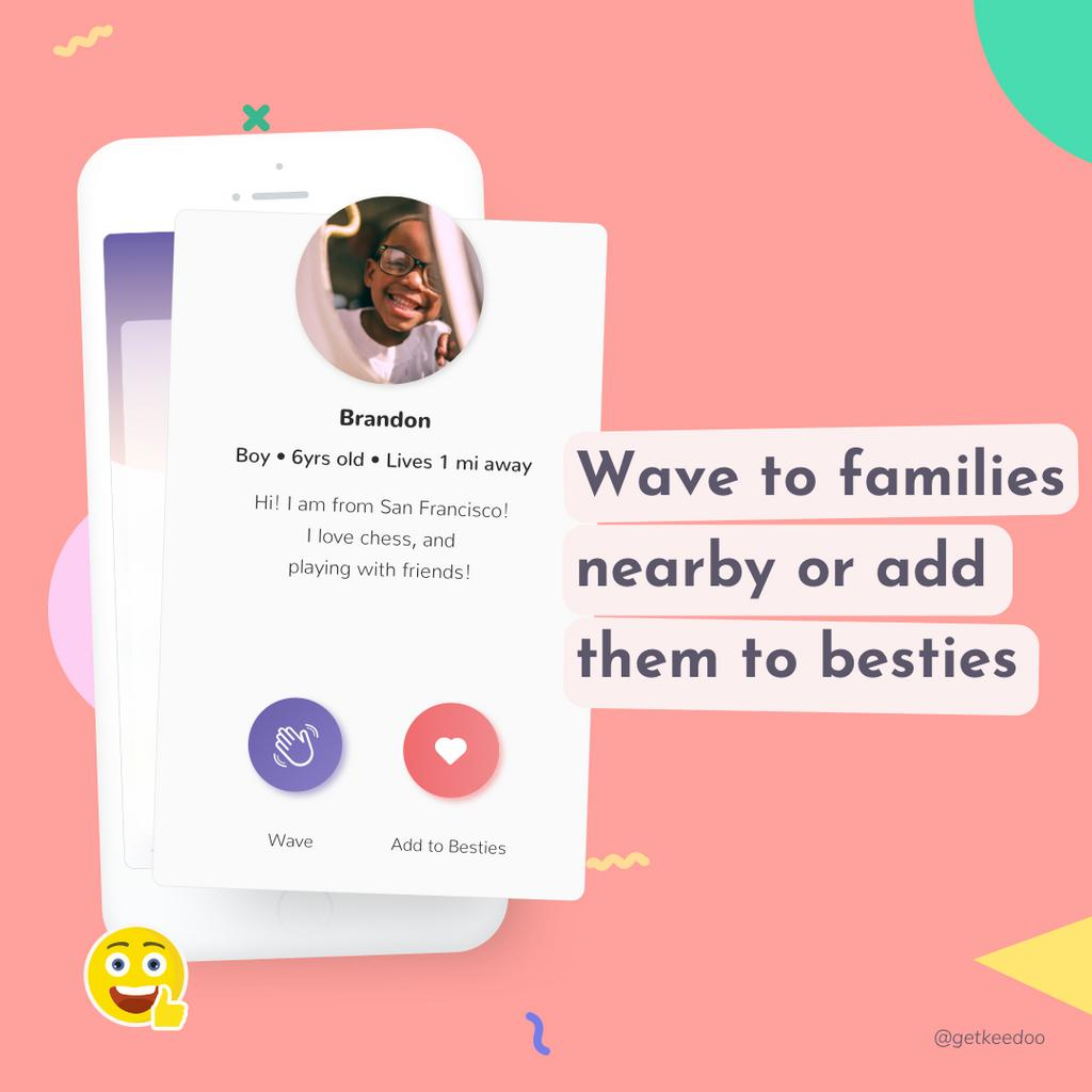 Keedoo App is an awesome way to meet more families around you and schedule playdates together! 🤗 —— #playdate #playdates #playdatefun #kids #kidsplaying #kidsplaydate #children #childrenplaying #mixedkids #parenting #parents #childrentoys #keedoo #keedooplaydates https://t.co/nGqV9TNdqT