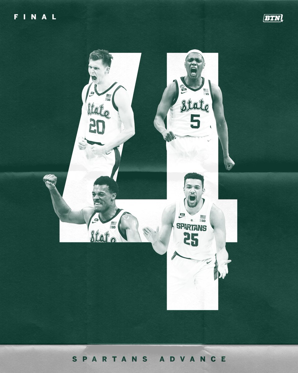 See you in April, @MSU_Basketball!  #MarchMadness x #MarchOnBTN https://t.co/UpiniAXagi