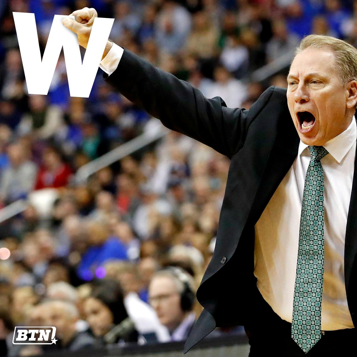 True or false: NCAA tourney win No. 52 is the sweetest for Tom Izzo?  #MarchMadness x #MarchOnBTN https://t.co/LUAY0tjEms