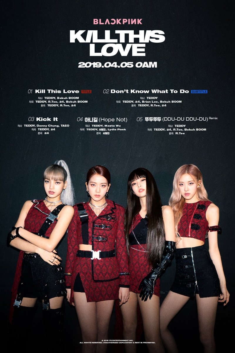 "BLACKPINK >> EP ""Kill This Love"" - Página 15 D3BmqHQVYAAkQRg"