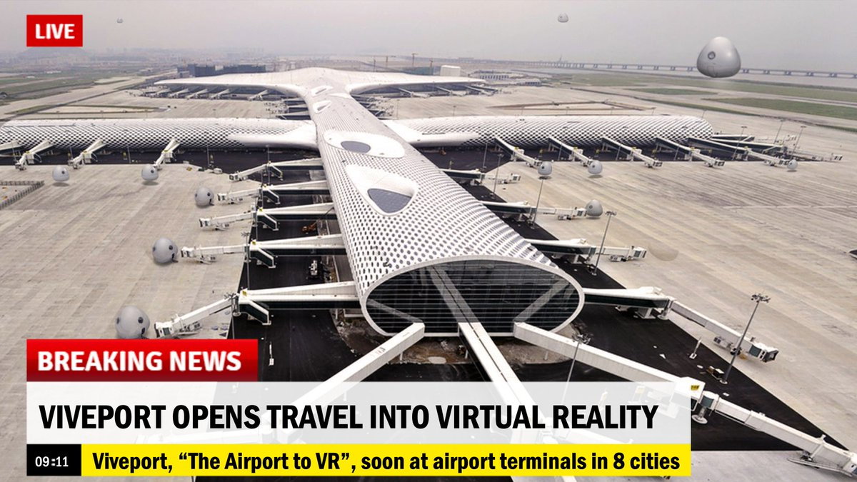 "0df87537403 Viveport - the ""Netflix of VR"" - debuts test flights into VR from major  airports. Comment"