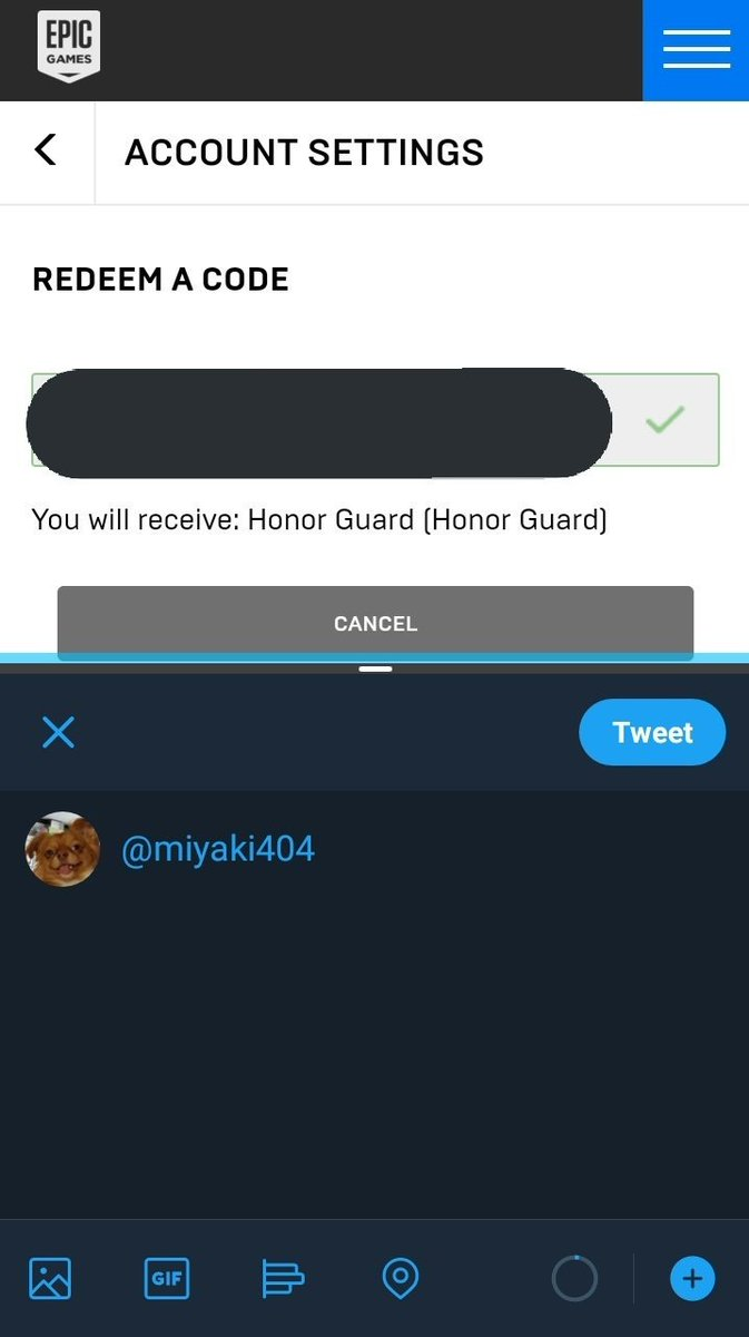 RETWEET IF YOU NEED A HONOR GUARD CODE! LEAVING THIS TWEET OVERNIGHT
