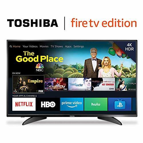 Toshiba 50LF621U19 50-inch 4K Ultra HD Smart LED TV HDR – Fire TV Edition...